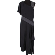 Load image into Gallery viewer, NWT Carolina Herrera Layered Ruffle Exposed Stitching Dress Size 12
