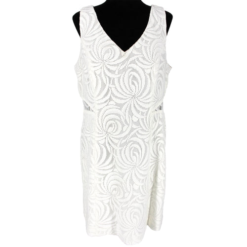 Lilly Pulitzer Blakely White Lace Shift Dress 14