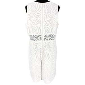 Blakely White Lace Shift Dress