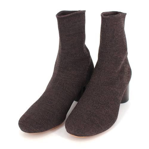 Tasha Sock Knit Booties
