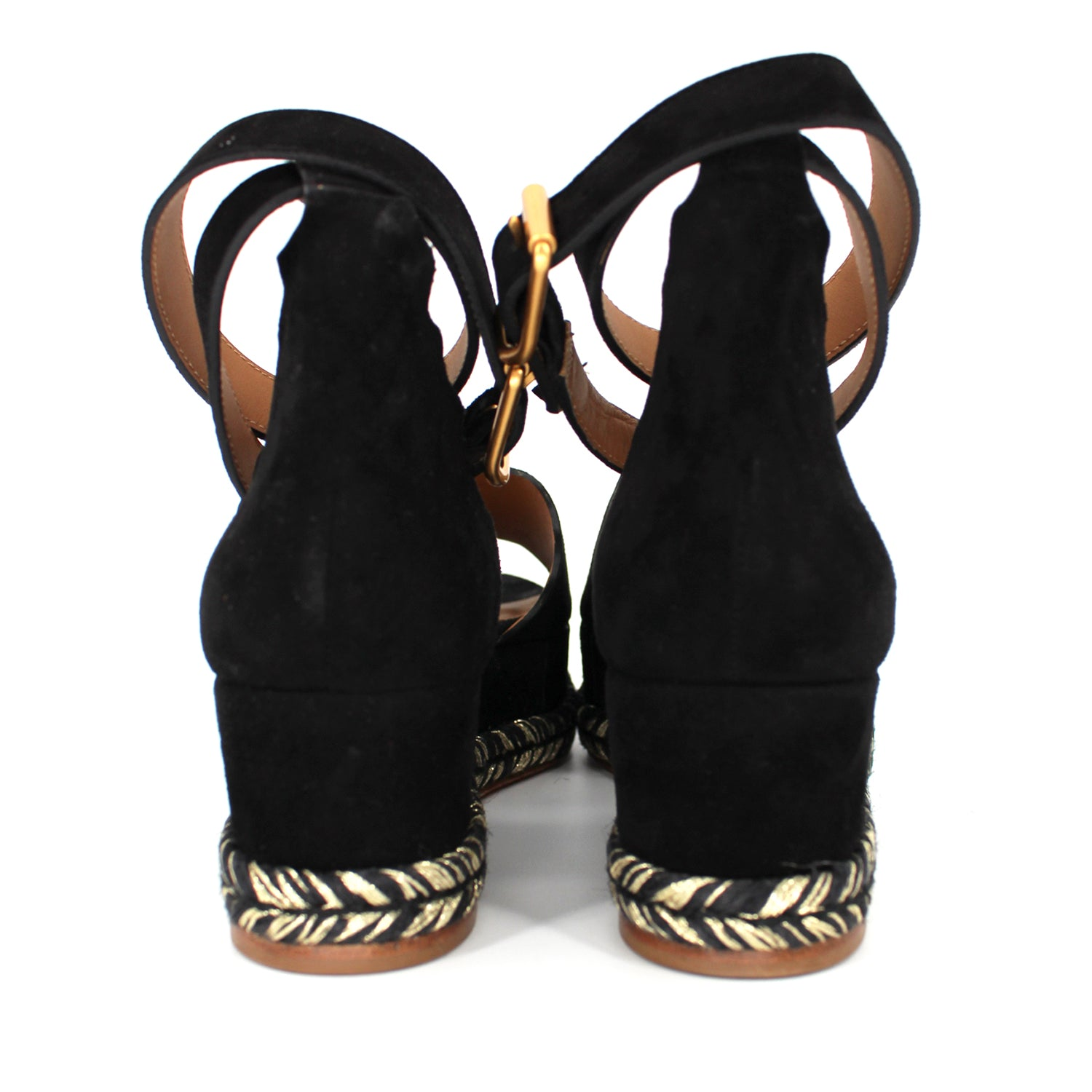 Chloe Lauren Scalloped Sandals