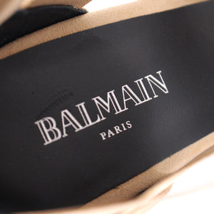 Balmain Lisa Elastic Caged Sandals