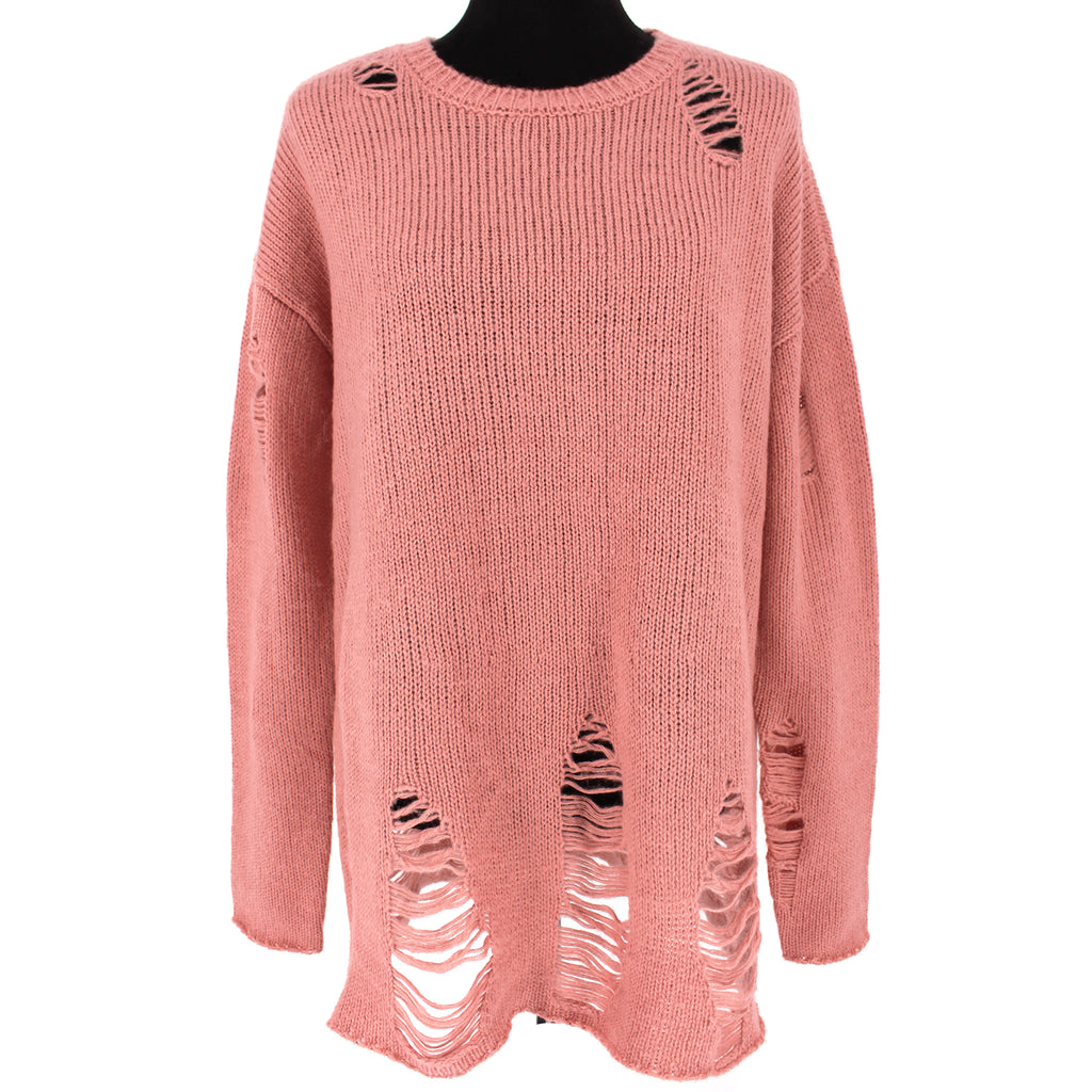 Show Me Your Mumu Tamaya Distressed Sweater