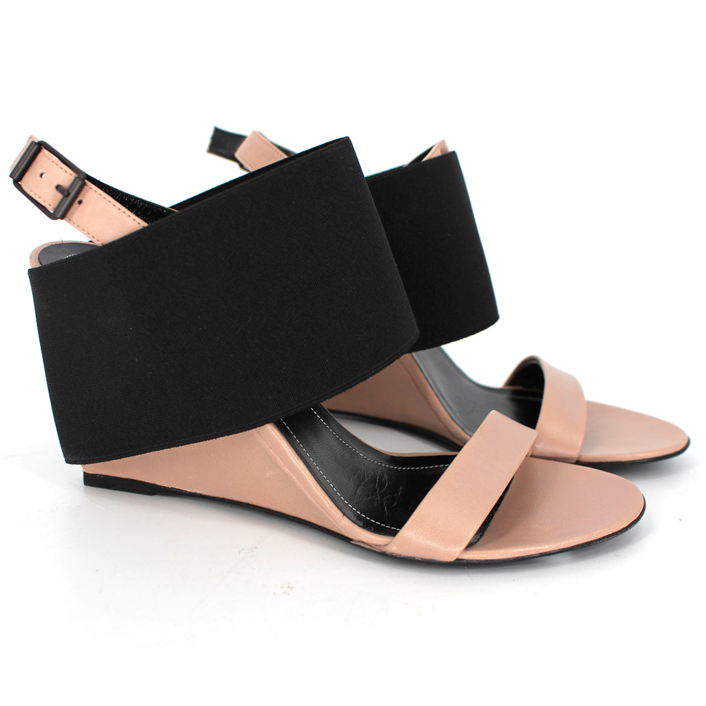 Balenciaga Prism Wedge Sandals