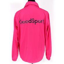Load image into Gallery viewer, Tory Burch Sport Waterproof Performance Satin Jacket Pink Medium