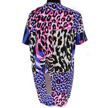 Load image into Gallery viewer, Silk Animal Print Dress