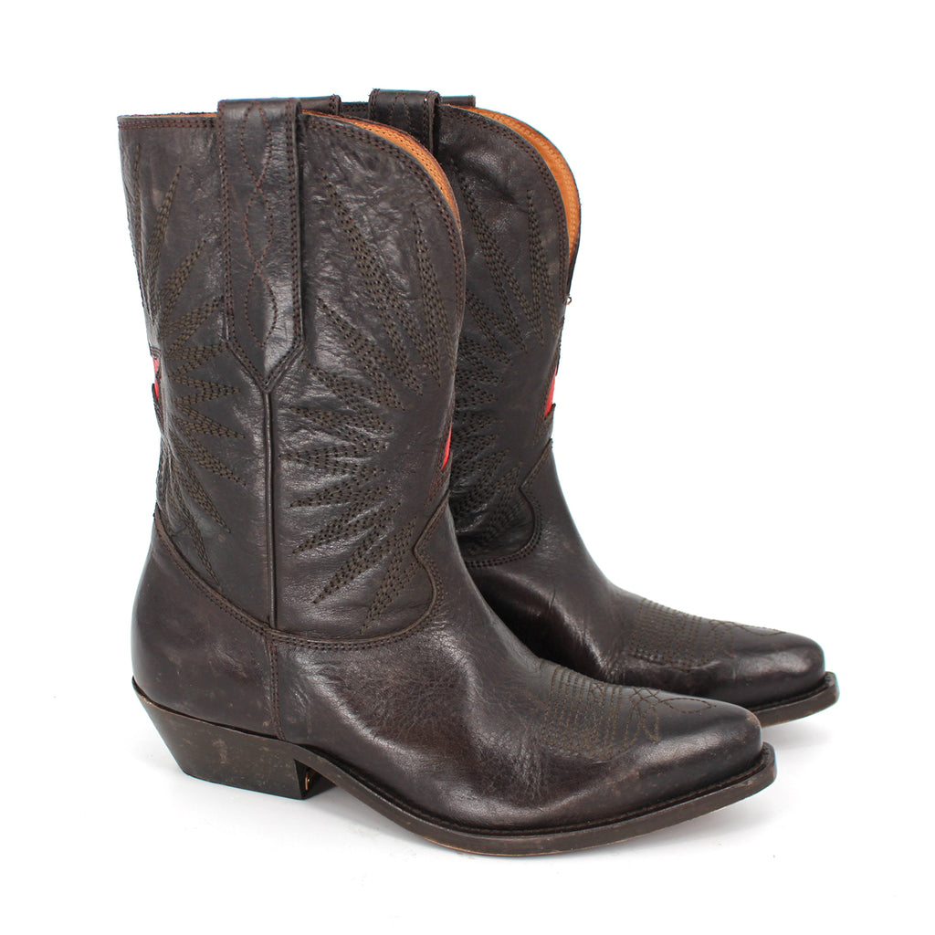 Golden Goose Star Cowboy Boots