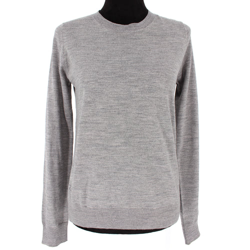 Zadig & Voltaire Embellished Miss M Skull Sweater Gray