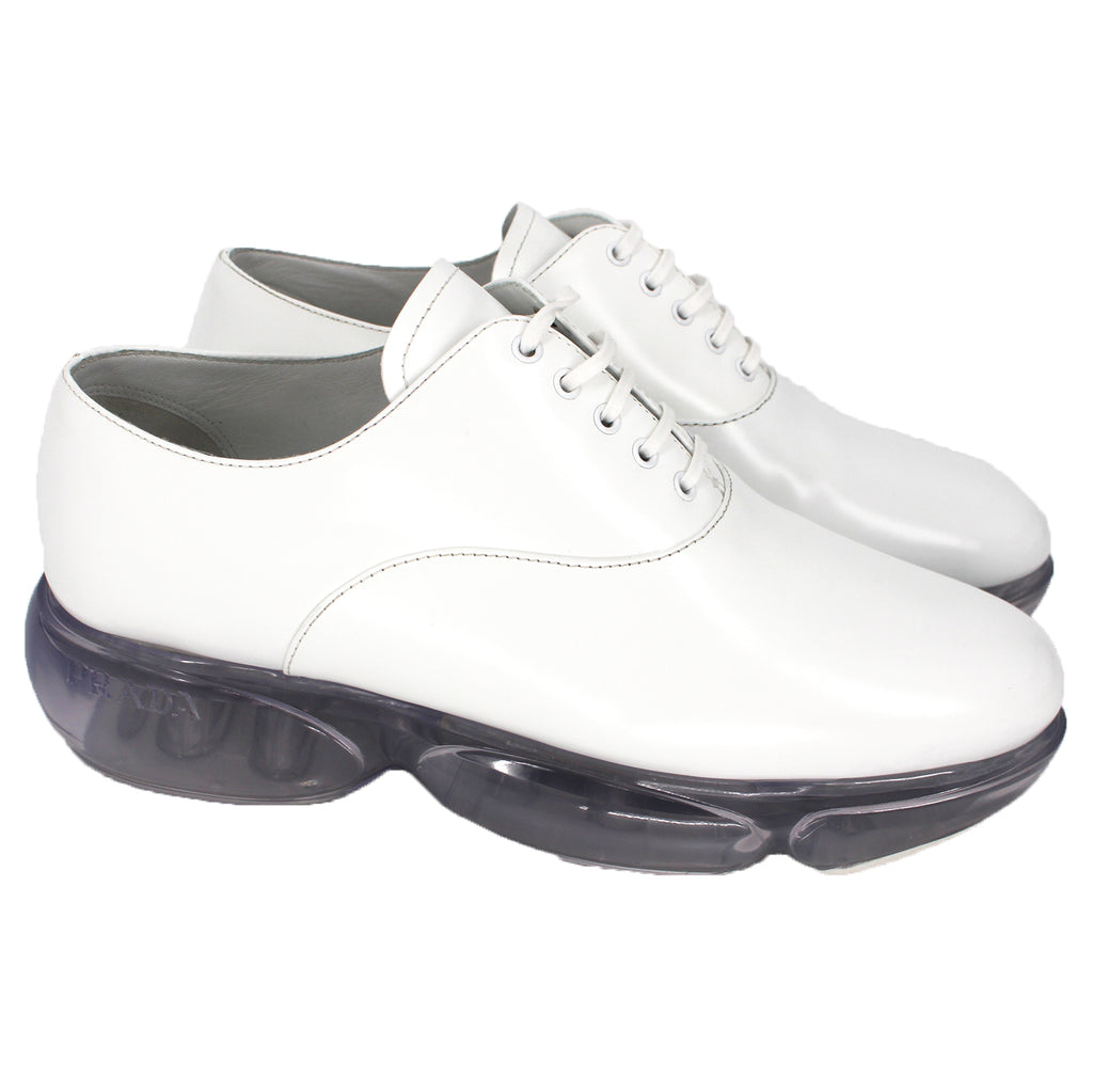 Prada Cloudbust Leather Shoes