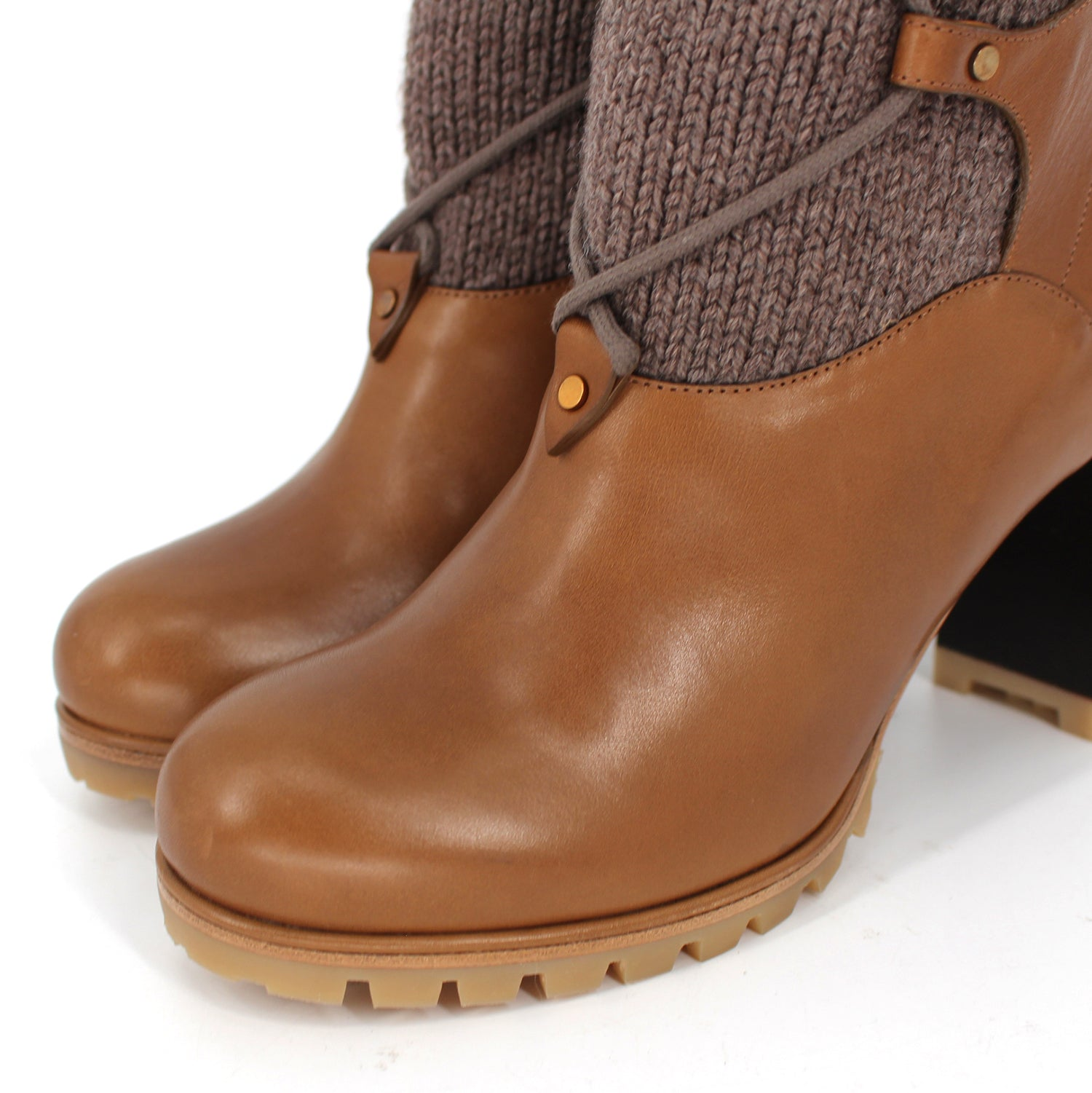 Chloé Foster Knit Boots
