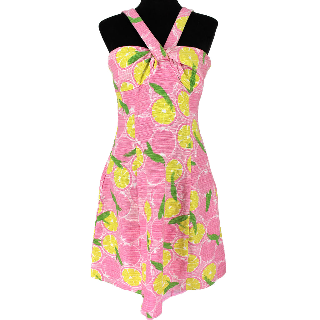 Moschino Lemon Print Dress
