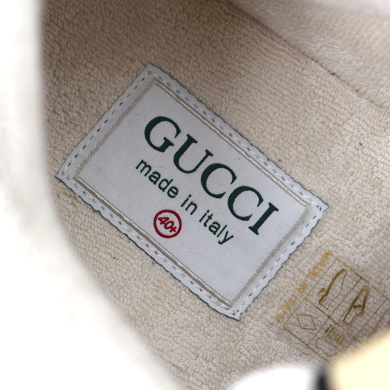 Gucci Leather Ultrapace Sneakers