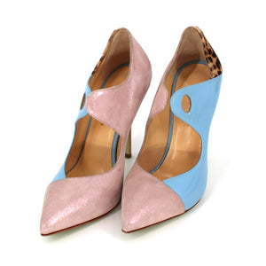 Giannico Pointed Toe Pumps