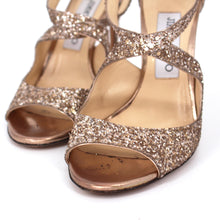 Load image into Gallery viewer, Emily Coarse Glitter Sandals