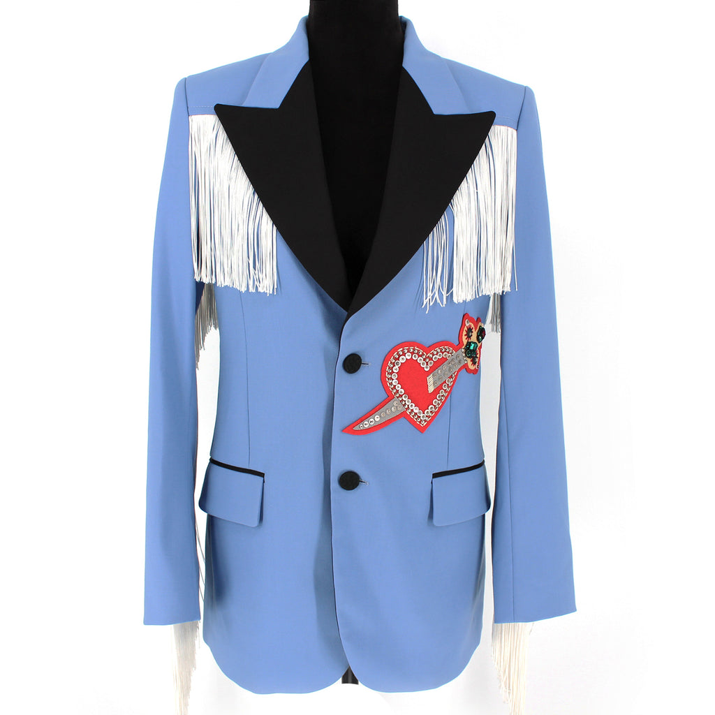 Gucci Fringed Embellished Jacket