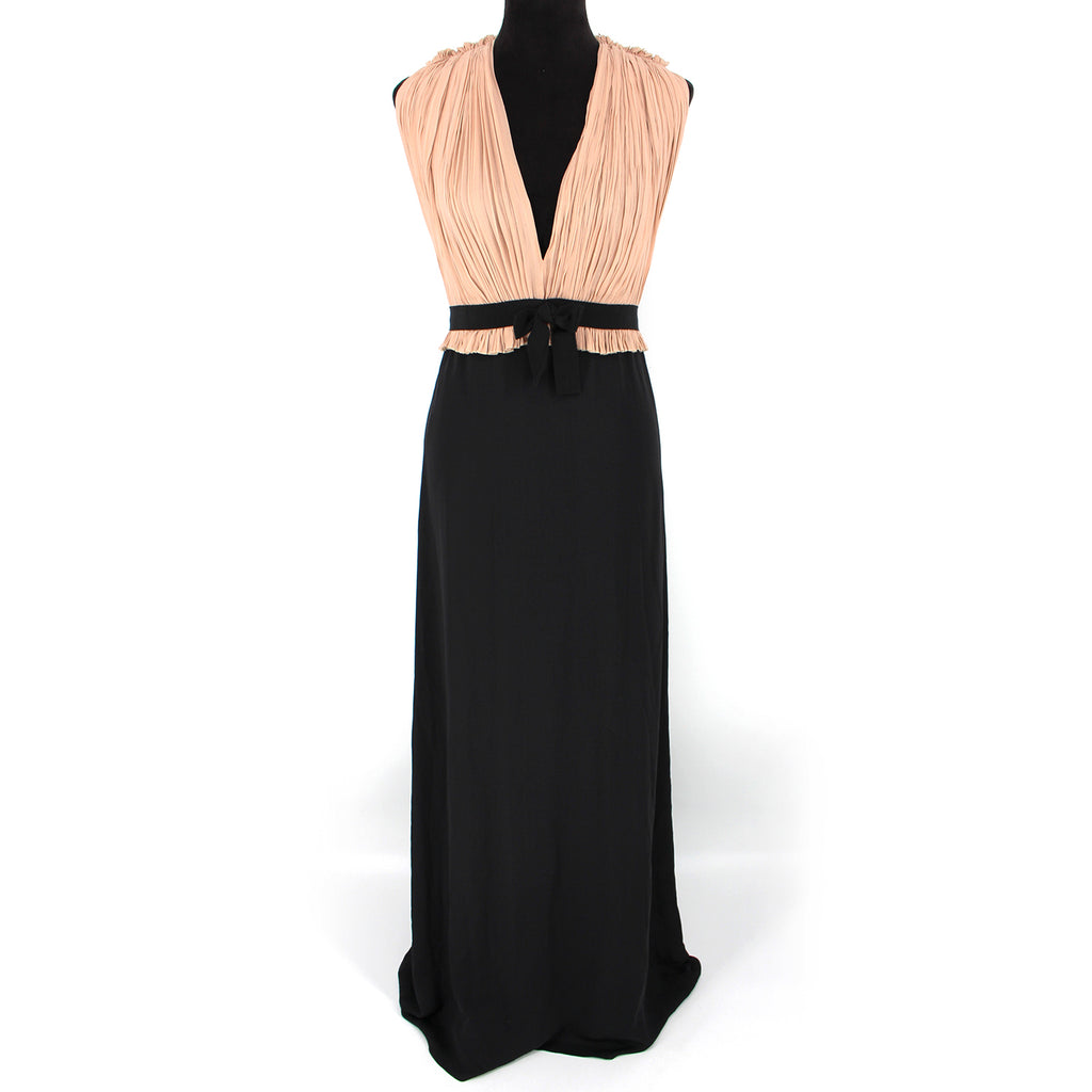Gucci Georgette Sleeveless Silk Gown