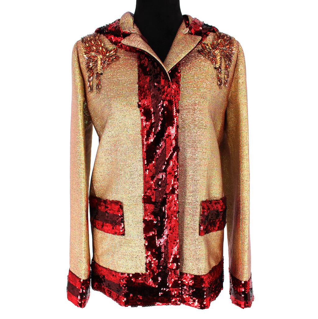 Gucci Rachel Lurex Embellished Jacket