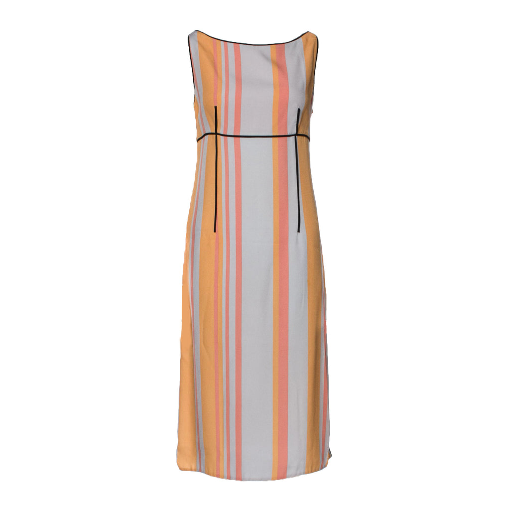 Prada Striped Sheath Dress