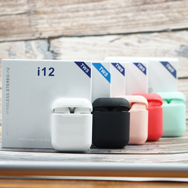 Original i12 TWS Bluetooth Touch airpods