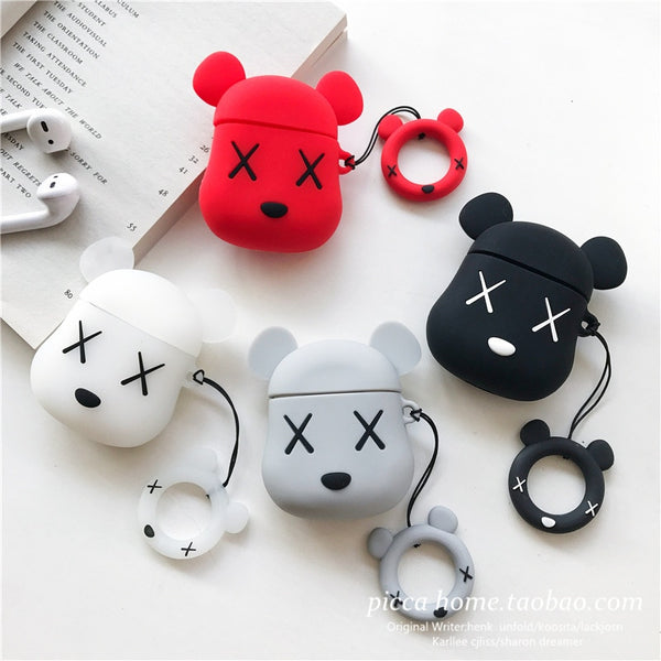 Popular Brand Cartoon Bear Apple AirPods