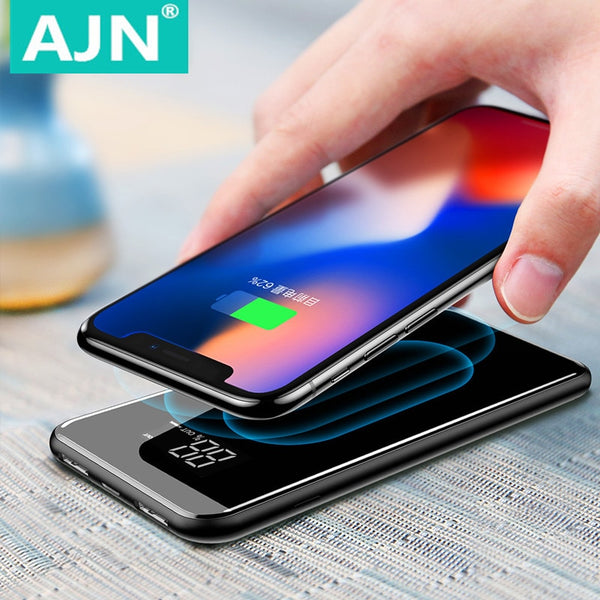 Wireless 30000mah Power Bank Wireless Charger For iPhone Samsung