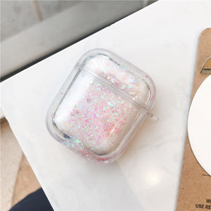 Liquid Glitter Quicksand Bluetooth airpods