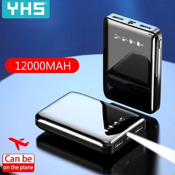 Mini Power Bank 12000mAh Dual USB PowerBank