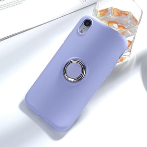 Liquid Silicone Holder i Phone Case For iPhone