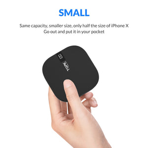 10000mAh Dual USB Mini Portable Power Bank