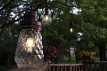 Load image into Gallery viewer, Oil Rubbed Bronze Diamond Lantern