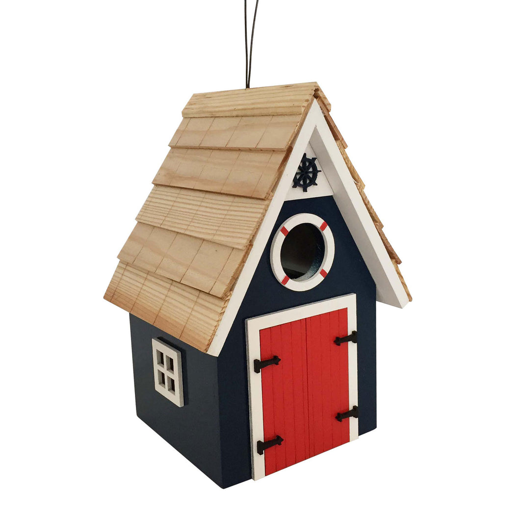 Birdhouse Cabin Dockside Dark Blue