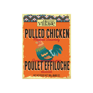 Gourmet du Village - Pulled Chicken Mexican Seasoning