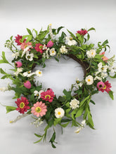 Load image into Gallery viewer, Summertime Floral Wreath