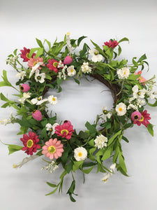 Summertime Floral Wreath