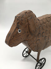 Load image into Gallery viewer, Metal Sheep w/ Wheels