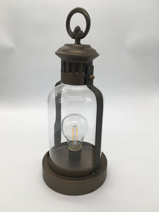 LED Oil Rubbed Bronze Rd Lantern