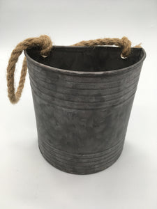 Galvanized Bucket Medium