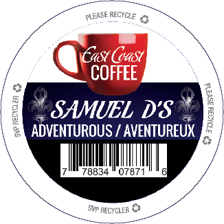 K Cup East Coast Coffee Samuel D's