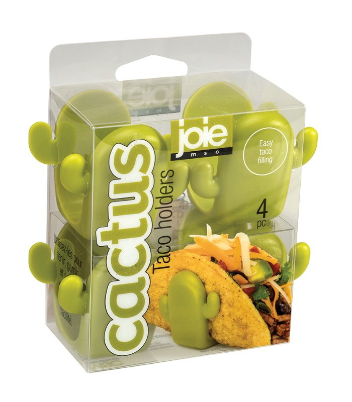 Cactus Taco Holders - Set of 4
