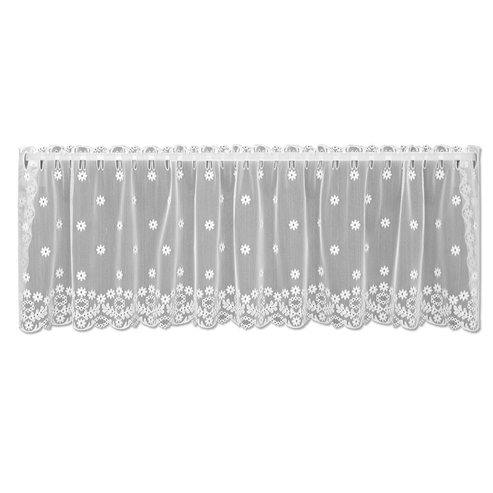 Lace Curtain Daisy Pattern