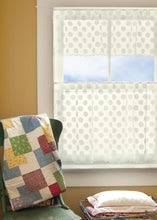 Load image into Gallery viewer, Lace Curtain Polka Dot II