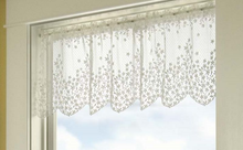 Load image into Gallery viewer, Curtain Lace Blossom Pattern