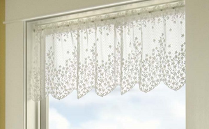 Curtain Lace Blossom Pattern