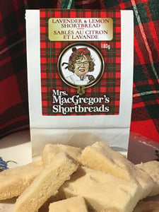 Mrs. MacGregor's Shortbreads - Lavender and Lemon