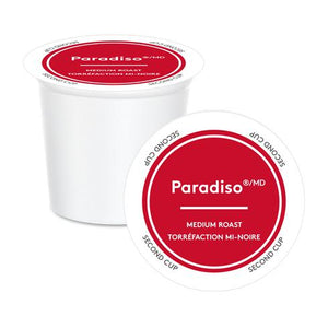 K Cup Second Cup Paradiso Medium
