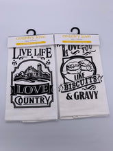 Load image into Gallery viewer, Tea Towel Country Assorted
