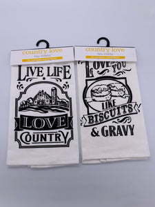 Tea Towel Country Assorted