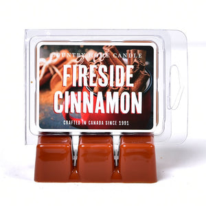 Wax Scent Squares - Fireside Cinnamon