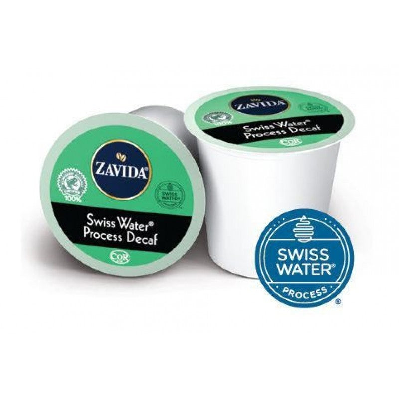 K Cup Zavida Swiss Water Process Decaf Coffee