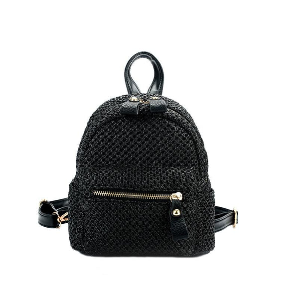 Nori straw Backpack - vensazia